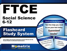 FTCE Social Science 6-12 Flashcard Study System