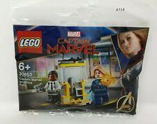LEGO Marvel Super Heroes: Captain Marvel & Nick Fury 30453 Brand New & Sealed