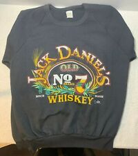 Jack Daniels Old No. 7 Tennessee Whiskey Black Sweatshirt  M The Wasted Group