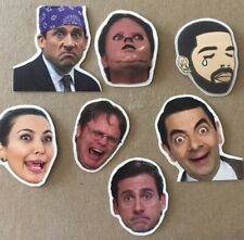 Set Of Pop Culture Stickers The Office Dwight Schrute Kardashian Drake Etc