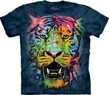 The Mountain Unisex Adult Wild Tiger Russo Animal T Shirt Small 1057740