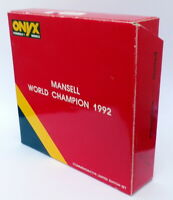 Onyx 1/43 Scale LE-2 - 4 Car Collectors Set - Nigel Mansell World Champion 1992