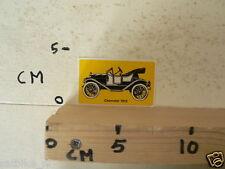 STICKER,DECAL CHEVROLET 1912 VINTAGE CAR OLDTIMER AUTO