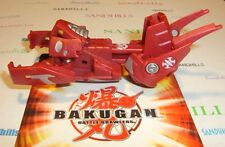 Bakugan Grafias Red Aquos Maxus Dragonoid Trap & cards