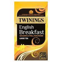 Twinings Luxury English Breakfast Tea Loose Tea 125g New Packaging