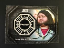 "Rittenhouse Lost Dharma Patch Card Hugo ""Hurley"" Reyes DP4 085/250"