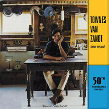 Townes Van Zandt - s/t 50th Anniversary LP 180 Gram Vinyl Album RECORD OBI STRIP