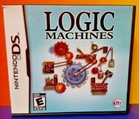 Logic Machines - Nintendo DS DS Lite 3DS 2DS Game Complete + Tested