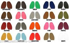 Vibram Colour Stick on Soles 1mm Ladies Fashion Designer Diamond Cut Extra Grip