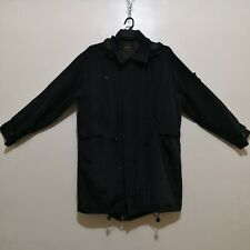C495 - G-Star Black Nylon Long Jacket