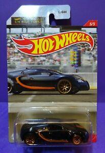 2021 Hot Wheels BUGATTI VEYRON 16.4, HW 1/4 MILE FINALS 5/5. Long Card.