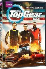 TOP GEAR USA Season 5 2014: Tanner Foust US TV Season Series - NEW R1 DVD Set