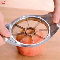 Stainless Steel Fruit Apple Pear Easy Cut Slicer Cutter Corer Divider Peeler