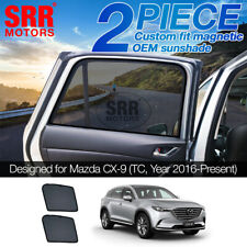 Custom Magnetic Sun Shade Rear Door Car Window For Mazda CX-9 CX9 TC 2016-2020