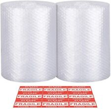 "72 Ft x 12"" Plastic Buble Shipping Wrap Cushioning Padding Packing Roll"