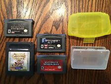 4 GAME BOY GAME harvest moon + advance spiderman + wolverine + bionicle (read!)