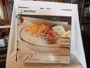 Anchor Hocking Presence Entertainment Set, Devil Eggs Tray, Appetizer Tray