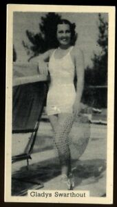 Tobacco Card, Murray Sons, BATHING BELLES, 1939, Gladys Swarthout, #4