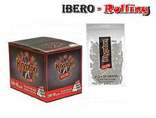 Filtros KRYPTON SLIM 6 mm. Caja de 20 bolsas. 200 filtros por bolsa. Liar tabaco