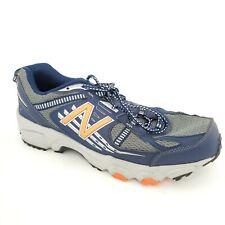 New Balance Mens 410v4 Trail Running Walking Shoes Blue  Orange 4E Width