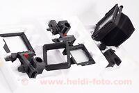 Sinar X 9x12 Großformat + 13x18 Adapter Balgen lagre-format Großformat OVP