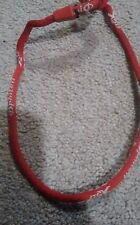 Phiten necklace, red in color, excellent condition