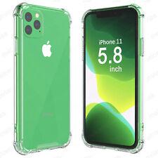Funda iPhone 11 Pro (5.8) + CRISTAL TEMPLADO Opcion Gel Anti golpes choque shock