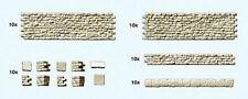 PREISER MODELS HO QUARRY STONE WALL CONSTRUCTION SET (70PCS) | 18215