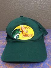 Bass Pro Shop Men's Green Mesh SnapBack Baseball Cap Hat