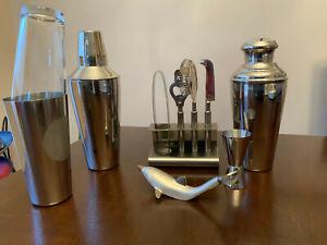 Cocktail Shaker Set Drink Mixer Bartender Kit Martini Tool  stainless steel