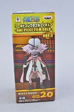 Banpresto One Piece World Collectible WCF Film Gold Whitejack Vol 3 GD20