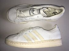 Vintage Adidas Shoes Sneakers Made In France Men's 4.5 Deadstock White 80s