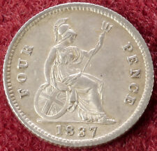 More details for gb fourpence groat 1837 (c2210)