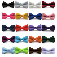 Baby Boy Bowtie Kid Toddler Child Pre Tied Party Wedding Tuxedo Bow Tie Necktie