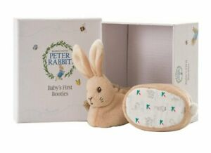 Rainbow Designs Peter Rabbit First Booties Set Gift Boxed