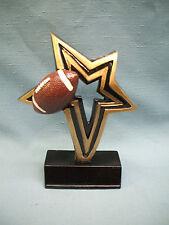 Football infinity star full color resin award Nfr105
