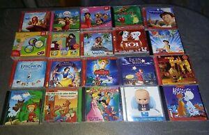 Kinder CD Sammlung Konvolut Kinder-Hörspiel 24 CD wie Neu Heidi Eiskönigin Conni