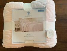 Simply Shabby Chic Pink Velvet Full Queen Bed Quilt