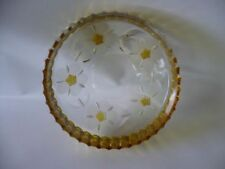 Bowl Yellow Depression Glass