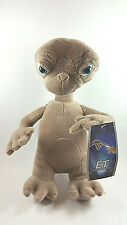 "E.T. The Extra-Terrestrial Universal Pictures 12"" Toy Factory Plush Toy! New w/T"