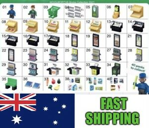 Woolworths BRICKS - Pick what you need - Build your Woolies Store - Fast Ship
