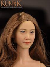 Kumik CG CY Girl Asian Female Head #16-12 1/6 Fit for Phicen body in stock