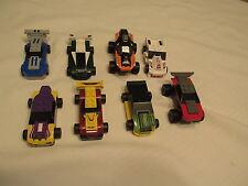 2009 MCDONALDS LEGO RACERS LOT SET 8 CARS VEHICULES CAR TRUCK TOYS