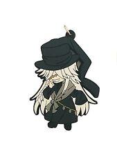 Black Butler Circus PVC Strap Keychain Charm ~ Undertaker BB002