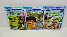 Shrek, Shrek 2, Shrek the Third 1-3 (3 Dvd Set) Complete w/ Slipcovers/Cases