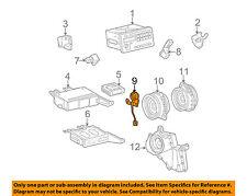 Pontiac GM OEM 03-08 Vibe Stereo Audio Radio-Tweeter Speaker Left 88973259