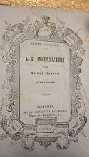 Michel Masson Les Incendiaires - 1847