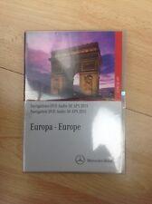 GENUINE MERCEDES E CLASS AUDIO 50 APS SAT NAV NAVIGATION 4 DISC DVD UK 2011 MAPS