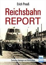 Fachbuch Reichsbahn-Report, Informationen und Bilder rund um die DDR-Bahn, NEU