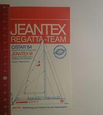 Pegatina/sticker: Jeantex Regatta Team (261116110)